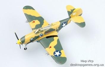 Стендовую модель истребителя Белл P-39Q Аэрокобра