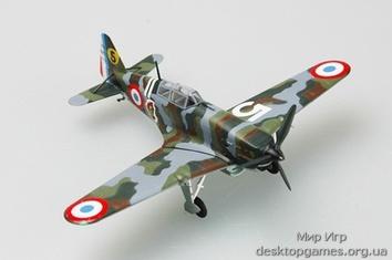 Стендовую модель истребителя Моран-Солнье MS.406