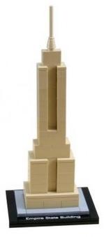 Lego Эмпайр-стейт-билдинг Architecture