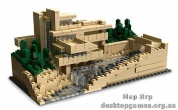 Lego Дом над водопадом Architecture 21005