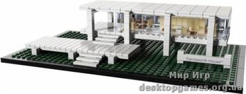 Lego Фарнсворт хауз Architecture 21009