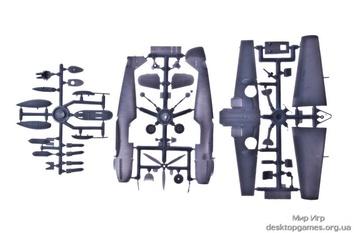 AMO72116-02 Bf109 Е3 + deka 72117