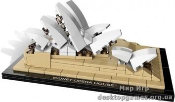 Lego Сиднейский оперный театр Architecture 21012