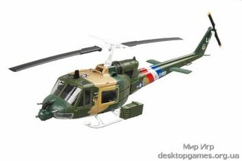 Стендовая модель вертолета UH-1F