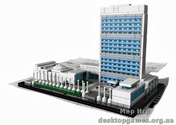 Lego Штаб-квартира ООН Architecture 21018