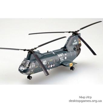 Стендовая модель американского вертолета CH-46 Си Найт