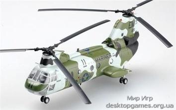 Стендовая модель вертолета CH-46F Си Найт