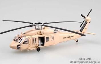 """Коллекционная модель вертолета UH-60 """"sandhawk"""" из пластика"""