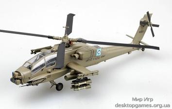Коллекционная модель вертолёта AH-64A «Апач» DEVIL S DANCE