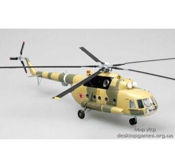 Собранная модель вертолета Ми-8T