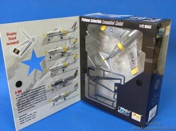 Собранная модель самолета Норт Американ F-86 «Сейбр» - фото 2