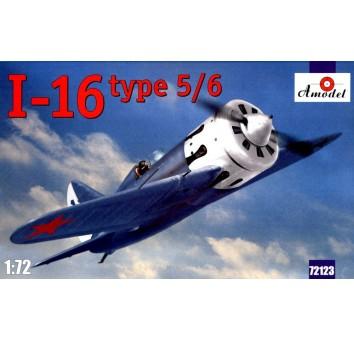 И-16 тип 5/6 Советский одномоторный поршневой истребитель.