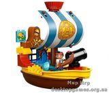 Lego Пиратский корабль Джека Duplo 10514