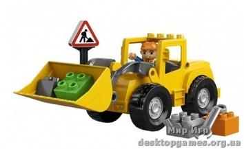 Lego Фронтальный погрузчик Duplo 10520