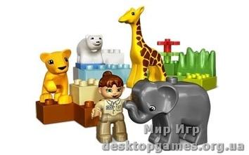 Lego «Зоопарк для малышей» Duplo 4962