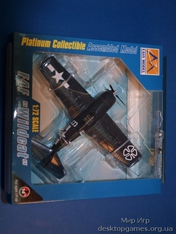 Палубный истребитель-бомбардировщик F4F-4 «Уайлдкэт«