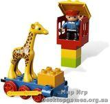 Lego Поезд-зоопарк Duplo 6144