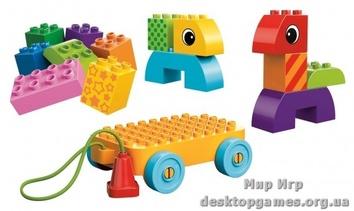 Lego «Веселая каталка с кубиками» Duplo 10554