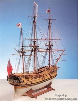 Деревянная модель корабля Фэлмаус (Falmouth)