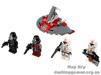 Lego Солдаты Республики против воинов Ситхов Star Wars 75001