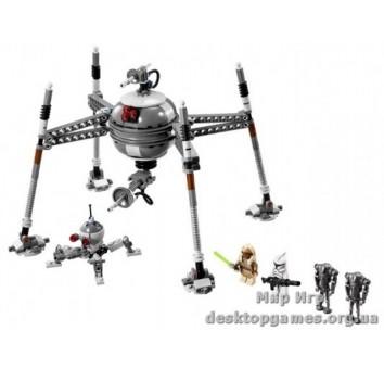 Lego Самонаводящийся дроид-паук Star Wars 75016