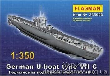 FL235006 German U-boat type VII C