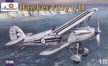 Hawker Fury I/II Морской истребитель-биплан ВВС Великобритании.