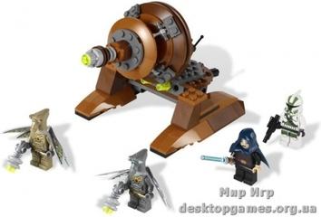 Lego «Джеонозианская пушка» Star Wars 9491