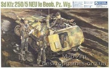 G743 SD KFZ 250/5 NEU LIGHT ARMOURED OBSERVATION