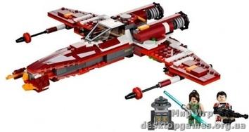 Lego «Истребитель атакующего-класса Республики»  Star Wars 9497