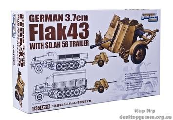 37-мм зенитное орудие с автоприцепом Sd.Ah.58
