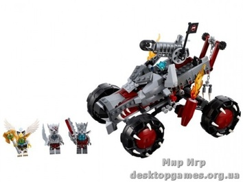 Lego «Разведчик Вакза» The Legends of Chima 70004