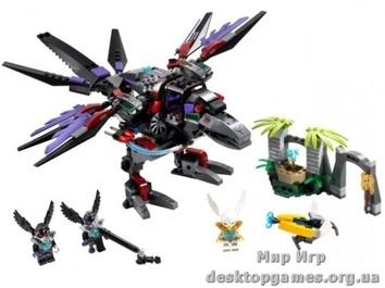 Lego Похититель Чи Ворона Разара The Legends of Chima 70012