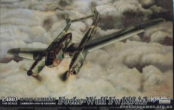 Немецкий самолёт «Фокке-Вульф»  Fw-189 A2