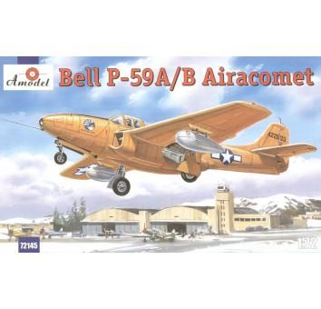 Bell P-59A/B Первый реактивный истребитель США