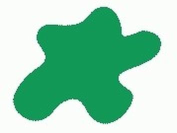 Акриловая краска HOBBY COLOR, цвет: Зелёный (основа), тип: Глянец