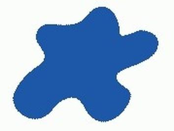 Акриловая краска HOBBY COLOR, цвет: Ярко-голубой (основа, авто), тип: Глянец