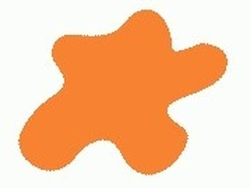 Акриловая краска HOBBY COLOR, цвет: Жёлто-оранжевый (основа), тип: Глянец