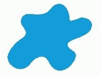 Акриловая краска HOBBY COLOR, цвет: Небесно-голубой (основа), тип: Глянец
