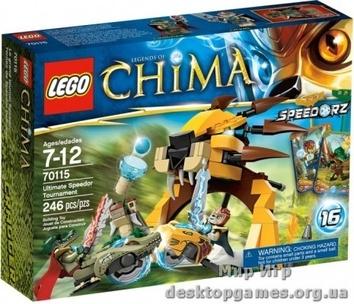 Lego «Финальный поединок» The Legends of Chima 70115