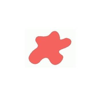 Акриловая краска HOBBY COLOR, цвет: Оранжево-розовый (основа), тип: Глянец