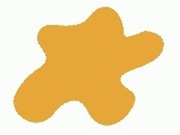 Акриловая краска HOBBY COLOR, цвет: Кремово жёлтый (основа), тип: Глянец