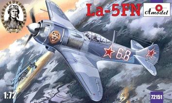 Одномоторный истребитель Ла-5 ФН