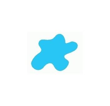 Акриловая краска HOBBY COLOR, цвет: Светло-голубой (основа), тип: Глянец
