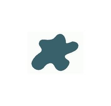 Акриловая краска, цвет: Переходной синий (авиация, США, ІІ Мировая), тип: Полуматовый