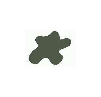 Акриловая краска, цвет: Оливково-коричневый (2) (бронетехн., США), тип: Полуматовый