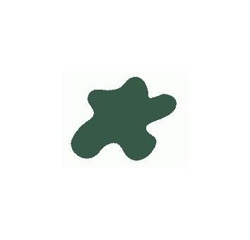 Акриловая краска, цвет: Хаки зелёная (бронетехн., США, ІІ Мировая), тип: Матовый