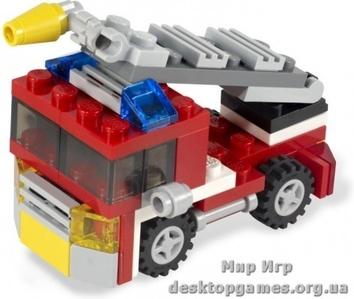 Lego Пожарная мини-машина Creator 6911