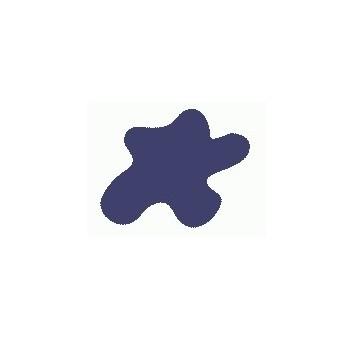 Акриловая краска, цвет: Тёмно-синий (авиация, Япония), тип: Глянец