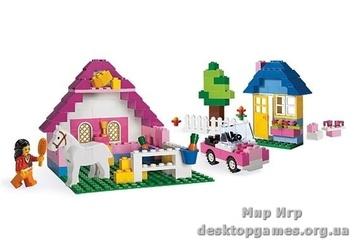 Lego «Большая розовая коробка с кубиками» Creator 5560